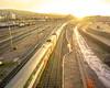 Hardbrücke Morning: Into the sun (2/3) (jaeschol) Tags: europa hardbruecke kantonzürich kontinent kreis5 morgen morning schweiz sonne stadtzürich switzerland zeit