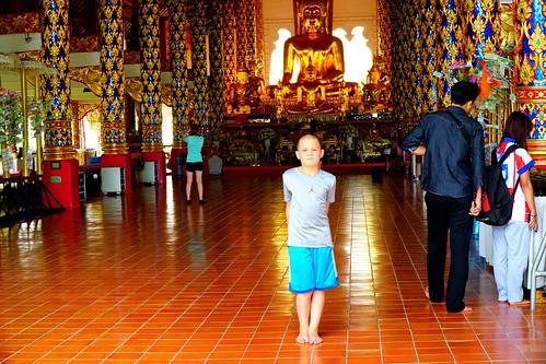 Wat Suan Dok Temple interior, Chiang Mai, Thailand