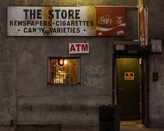 The Store (D. Coleman Photography) Tags: store bodega south philly philadelphia grays ferry tasker street homes projects 29th night retail food old run down signs coke