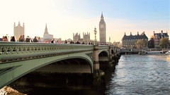 Westminster bound (S Clark) Tags: westminster london thames londonskyline november housesofparliament bigben southbank rivers bridge westminsterbridge