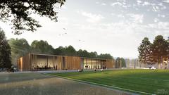 Sporthalle Oberflockenbach / Germany (Imagenatives) Tags: imagenatives architectural visualisation archviz