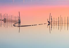 De pesca... (Jos Ferrando) Tags: albufera canon6d carlosparra goladepuchol javibenedito juancarlossimn otoo2016 paisaje tamaramesa atardecer canon70200l caas
