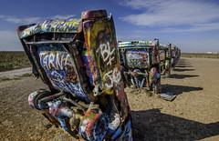 Cadillacs in the Dirt (jdnelms62) Tags: cadillacranch cadillac cars abandoned abandonedcars americancars amarillo texas