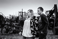A Date to Remember (stoneleighboy) Tags: mono candid streetphotography blackandwhite couple romance love irnbru nikon ayrshire rain