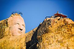 Crazy Horse Memorial, Black Hills, South Dakota (Thomas Hawk) Tags: america blackhills crazyhorse crazyhorsememorial custercounty korczakziolkowski southdakota usa unitedstates unitedstatesofamerica indian sculpture custer us fav10 fav25 fav50