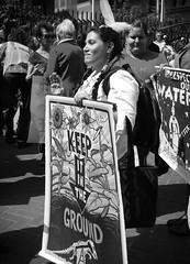 IMG_4331-1 (rawEarth) Tags: nodapl sanfrancisco nodakotaaccesspipeline rally march protest standingrocksioux solidarity climatechange keepitintheground rezpectourwater idlenomore northdakotaresistance lovewaternotoil waterprotectors nofossilfuels blackandwhite