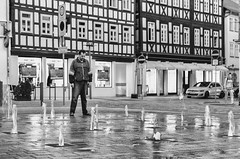 The fountain master... (b_represent) Tags: foutain brunnen street strasenfotografie strase streetphotography coburg bayern bavaria