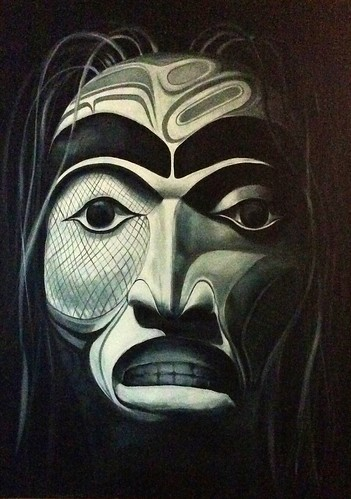 Eternity - Native Art - Mask Painting