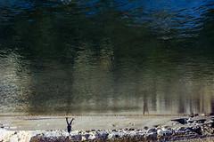 (darkWhiteYeti) Tags: reflection water guernsey bathing pools pool walking