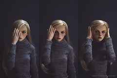 If I was hold one hand over my face now (Kimsora) Tags: bjd bjds doll bjddoll dollstagram twiggy blond leekeworld mihael