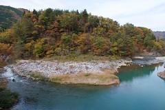 Shokawa River (Frank Fujimoto) Tags: ogimachi japan water reflection