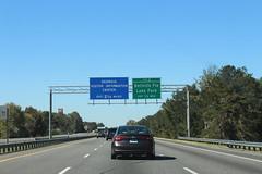 Georgia I75nb Exit 2 .5 mile, Georgia Visitor Information Center 2.25 miles (MJRGoblin) Tags: interstate75 lowndescounty 2016 lakepark georgia