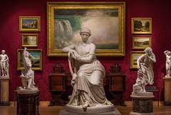 Parlor (BenBuildsLego) Tags: boston museum fineartsmuseum 19thcentury sculpture marble america myth