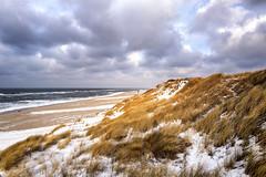 Ich will ans Meer! (blichb) Tags: 2016 deutschland leicaq leicasummilux11728asph meer nordsee schleswigholstein sylt blichb winter schnee düne strandhafer wolken himmel list de