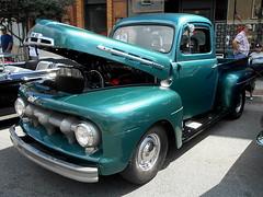 1951-52 Ford F-1 (splattergraphics) Tags: 1951 1952 ford f1 pickup truck carshow charlestownwv