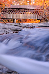 Poole's Mill Flow.jpg (Chatterstone Photography) Tags: hdr autumn creek park 3xp bridge fall poolesmill