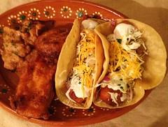 Ensenada Style Fish Tacos (strippedcats) Tags: ensenada baja fishtacos food dinner cooking mahimahi