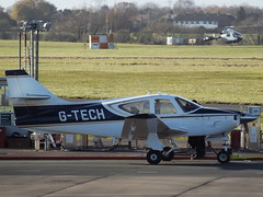 G-TECH Rockwell Commander 114 (Aircaft @ Gloucestershire Airport By James) Tags: gloucestershire airport gtech rockwell commander 114 egbj james lloyds