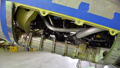 Belly of the Beast (Chris Usrey) Tags: douglas ga airport p82 twin mustang restoration aviation flying