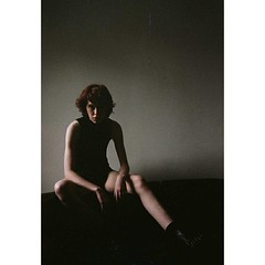 Alannah (Ray_Max) Tags: woman dusk film redhair androgynous beauty portrait legs boots callofthewest raymax