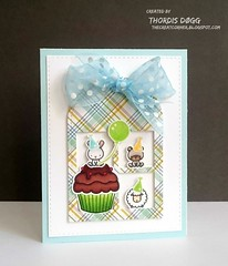 BUTTONS OR RIBBONS (Thordis D. A.) Tags: card cardmaking mamaelephant copic coloring prettypinkposh
