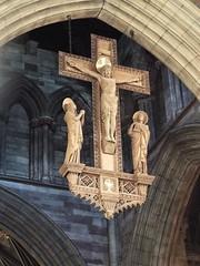 Bangor Cathedral (laptoppingpong) Tags: bangorcathedral bangor cathedral crucifix
