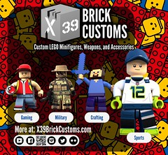 X39BrickCustoms Black Friday - Cyber Monday (X39BrickCustoms .com) Tags: lego x39brickcustoms custom minifigures