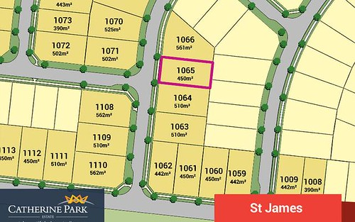 Lot 1065, Catherine Park Estate, Oran Park NSW 2570