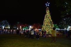 Marktplatz Fredericksburg,Texas (The Old Texan) Tags: lights christmas texas fredericksburg d7100 nikon