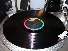 Glen Campbell Christmas Record. (dccradio) Tags: lumberton nc northcarolina robesoncounty turntable ttusb ion record vinyl glencampbell thatchristmasfeeling stylus music christmasmusic album lp longplay 3313