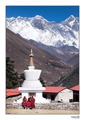 Dharma (michael.reinold) Tags: nepal tengboche mounteverest