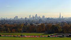 London skyline from Parliament Hill (Dun.can) Tags: hampsteadheath hampstead london nw3 trees parliamenthill skyline city autumn