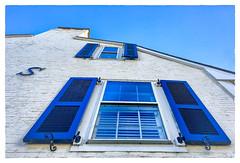 S (Timothy Valentine) Tags: blue wednesday window large 2016 1116 plymouth massachusetts unitedstates us