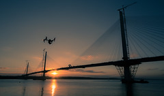 eye in the sky (s1msn) Tags: dji drone inspire 4k forth replacement crossing south north queensferry rosyth inverkeithing river dridge rail hawes peir canon 5d mk3 sigma 1224