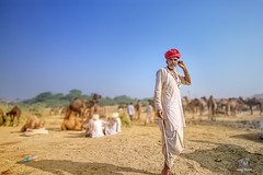 A nomad of the desert (manuj mehta) Tags: desertpeople india rajasthan colors nomads people peopleofindia peopleofthedesert pushkar camel streetshot photography