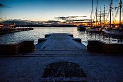 Wharf, Oslo, Norway (Davide Tarozzi) Tags: wharf oslo norway norvegia molo notte kongeriketnoreg kongeriketnorge