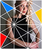 Alana (reidcrosby) Tags: alana tiles clothespins hair