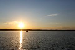 Sunset (Rob Kunz) Tags: lake water recreation kunz sportsrecreation