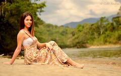 Amazon beach, Gualaquiza-Ecuador (Galo Andrés) Tags: woman beach beauty ecuador nikon gualaquiza nikond7000
