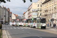 MPK Konstal 105Na tram no.2411+2412 , Wrocław 10.09.2015 (szogun000) Tags: urban canon cityscape publictransit trolley tram poland polska transportation masstransit streetcar tramway tramwaj wrocław line2 2412 2411 lowersilesia konstal dolnośląskie dolnyśląsk mpkwrocław konstal105na canoneos550d canonefs18135mmf3556is