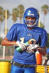 D133939A (RobHelfman) Tags: sports losangeles football highschool practice crenshaw