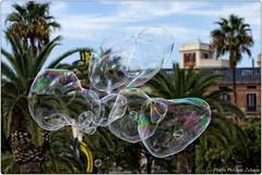 Barcelone - Bulles de savon ! (http://phj.bookfoto.com/) Tags: enfant espagne bulles philippe barcelone jeu savon catalogne eclater jubeau
