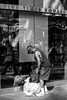 Homeless (Guilherme Nicholas) Tags: street new york city nyc people bw white ny black streets apple 35mm square photography big nikon cityscape manhattan candid nypd peoples times d5300