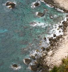 58270_712676629881_172010057_41956405_2168928_n (angelakourtes) Tags: travel blue trees sea mountains nature leaves islands europe exploring aegean adventure greece islandlife shadesofblue ionion bluezone islandlifeforme