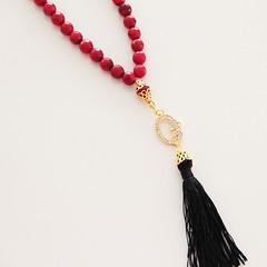 15-07-2015-0205 (vanilleecom) Tags: red coral rosary islamic tasbih tasbeeh misbaha masbaha