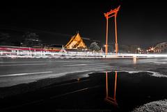 Sao Ching Cha,Bkk (facebook : Jukkrit Hanpipatpanich) Tags: thailand asia waterfront bangkok bkk 1020sigma d7100