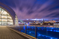 Sage by night (G.A.D) Tags: zeiss newcastle landscape sage tynebridge 28 quayside 25mm rivertyne tyneandwear carlzeiss zf distagon2825