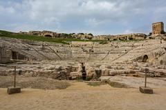 Siracusa, Sicila, Italia! (Flavio~) Tags: day2 italy sicily archeologicalpark greektheater neapolis oct2015 syracusaortigia