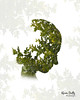 CR5 (Karen Duffy PhotoArt) Tags: plant tree green face artistic head doubleexposure creative double