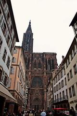 Strasbourg Cathedral (DavideGorla) Tags: france strasbourg ill alsace minster illriver cathedralofourladyofstrasbourg